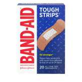 Band-aid  Tough Strips Adhesive Bandages - 20 Ct