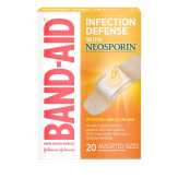 Band-aid  Adhesive Bandages Plus Antibiotic - 20 Ct