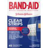 Band-aid  Adhesive Bandages Clear Strips Ass...