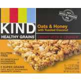 Kind  Healthy Grains Granola Bars Oats & Honey With Toasted Coconut - 5 Ct
