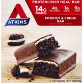 Atkins  Advantage Cookies N' Creme Bar - 5 Ct