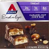 Atkins  Endulge Carmel Nut Chew Bar - 5 Ct