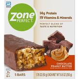 Zone Perfect  Nutrition Bars Chocolate Peanut Bu...
