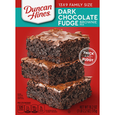 Duncan Hines  Extra Thick & Fudgy Brownie Mix Da...