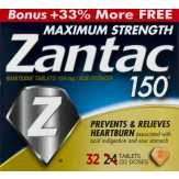 Zantac  150 Maximum Strength Ranitidine Ta...