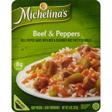 Michelina's Beef & Peppers Entree