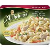 Michelina's Pasta With White Chicken Peas & Carrots Entree