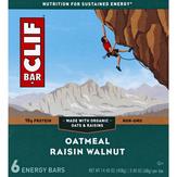 Clif Oatmeal Raisin Walnut 6pk Clif Oatmeal Raisin Walnut 6pk