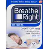 Breathe Right  Nasal Strips Original - 30 Ct