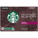 Starbucks Sumatra Dark Roast Ground