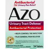 Azo Azo Urinary Tract Defense Antibacterial Protection - 24 Ct Azo Urinary Tract Defense Antibacterial Protection...