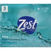 Zest  Deodorant Bars Aqua - 3 Ct