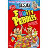Post Fruity Pebbles Cereal