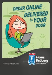 Get your groceries delivered in as little as an hour with Food City Delivers