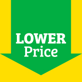 New lower prices on items throughout the store.
