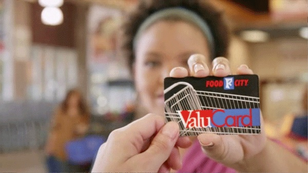 Save even more, faster with your Food City ValuCard.