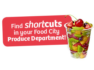 ShortCuts Cut Fruits and Vegetables