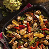 Easy Chicken Tender Fajitas