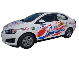 Pepsi Chevy Sonic