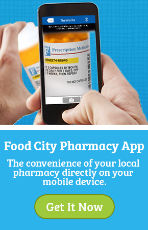 Food City Pharmacy App