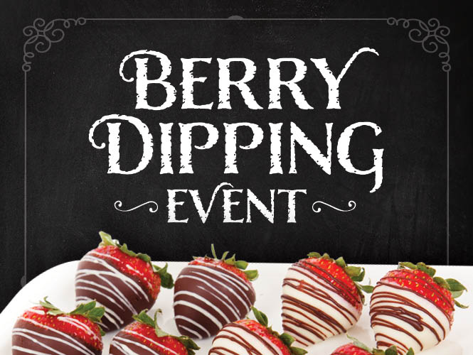 Berry Extravaganza: Hand-dipped chocolate strawberries