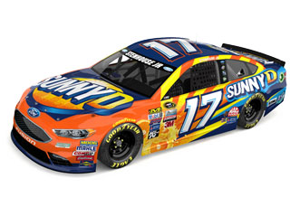 See Ricky Stenhouse, Jr.'s #17 Sunny D Ford Fusion Show Car at Food City before the big race this April