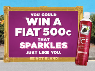 Food City Sparkling Ice 2017 Sweepstakes, Win a Fiat 500c!