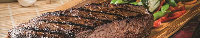 Superior beef means superior steaks and only the very best beef earns the Certified Angus Beef label.