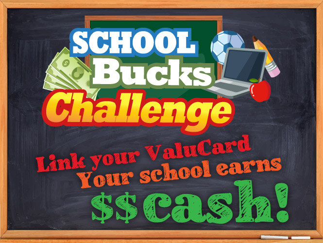 Earning money for your school is easy!
