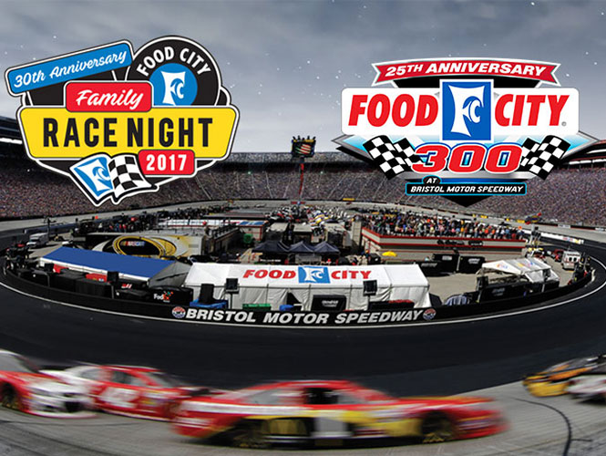This year marks the 25th anniversary of the Food City 300 and the 30th Anniversary of Food City Race Night.