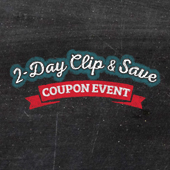 We know you love our low prices and during our coupon sale events, you'll save even more with special coupon savings throughout the store!