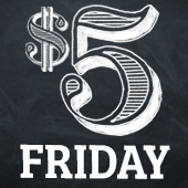 When you see the $5 Friday sign you know you are going to save BIG at Food City! Selected items throughout the store are only $5 while supplies last. Better get here early because these deals won't last.