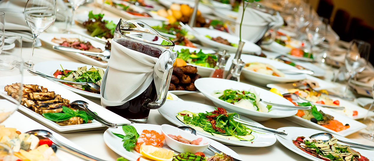 Make your next event easy and enjoyable with full service catering and event planning services from Food City.