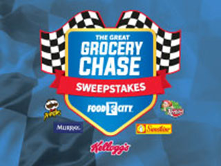You could win Free groceries or fuel for a year from Food City if you win the Great Grocery Chase Sweepstakes.