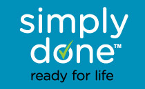 With Simply Done you can be ready for life for less. Look for the check thought the store!