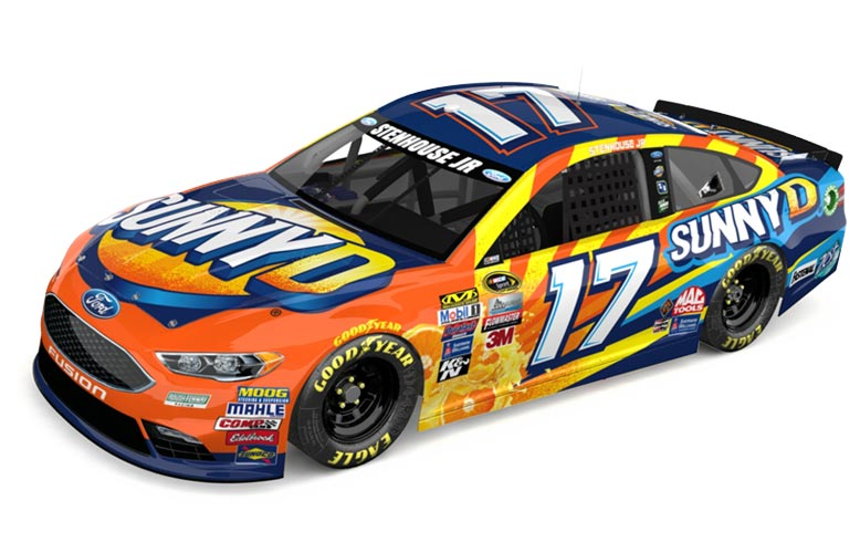 Stop by one of these Food City locations to see Ricky Stenhouse, Jr.'s #17 Sunny D Ford Fusion Show Car.