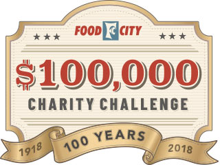 This year Food City will donate an additional $100,000 to charitable organizations throughout the area in celebration of their 100th Anniversary.