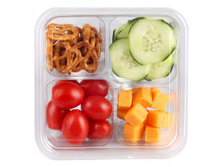 Food City's ShortCuts Snack Packs are a healthy on-the-go snack!