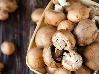 Vitamin D is a growing nutrient of concern for many Americans. Dairy isn't the only source of Vitamin D.  Did you know that mushrooms can be a source of vitamin D  as well?