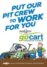 Order groceries online and pickup curbside with Food City's GoCart!