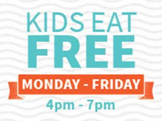 Kids eat free every night from 4-7pm this September in the Food City deli. See your local Food City grocery store for complete details.