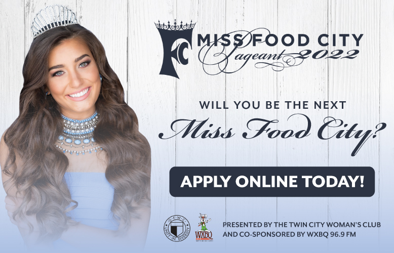 The 2022 Miss Food City will be held November 6th. Apply today for your chance be the next Miss Food City.