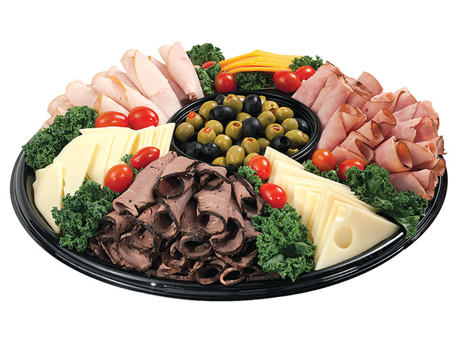 One of our favorites, the Meat & Cheese Medley deli platter combines your favorite sliced meats and cheeses into one convenient party solution. Order yours today at Food City.