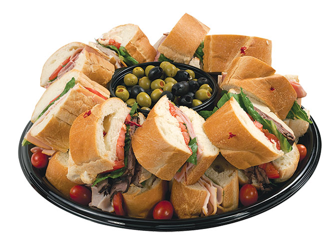 The freshest baked bread from our bakery combined with thin sliced premium meats and cheeses from our deli combine to create this superior taste sensation. The Sub Sandwich party tray is a great choice when you have a big crowd with an even bigger appetite. Order yours today from your local Food City grocery store.