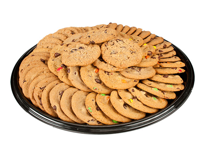 Looking for something sweet for your next gathering? Try the Assorted Cookie Tray featuring fresh baked chocolate chip, sugar, & oatmeal raisin cookies. You can order your at anytime online from Food City.