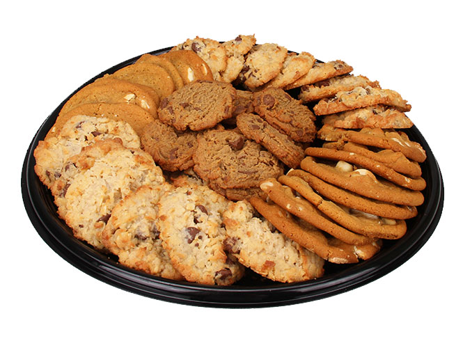 Enjoy a platter of our most decadent cookies made from the finest ingredients. An unforgettable selection of cookies such as the Almond Joy and White Chocolate Macadamia nut cookies can be picked up from your local Food City Bakery today.