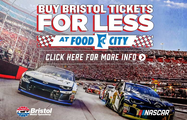 Food City 500 Tickets on-sale in Food City Stores Beginning February 13, 2019