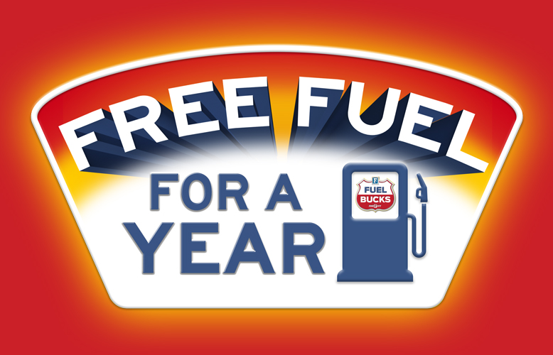 You could win FREE Fuel for a Year!