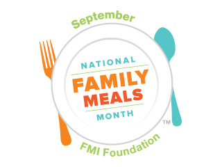 We're celebrating National Family Meals Month™ at Food City in September, a nationwide event designed to underscore the benefits of family meals and the role we can play in helping your family share one more meal at home per week.
