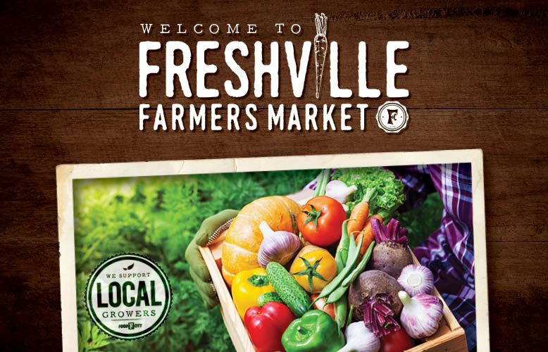 The Food City Freshville Farmers Market features a wide array of locally grown produce such as corn, half runner beans, Grainger County tomatoes and squash.